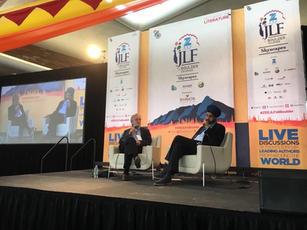 Speaking at JLF