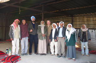 Coffee with the Bedouin, Negev desert 2010