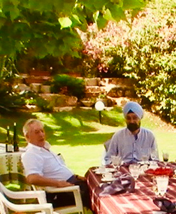 Lunch with Maria Vargas Llosa, 2010