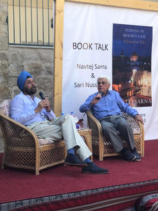 Indians at Herod's Gate - Indian Hospice Launch