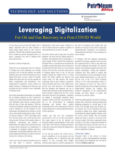 Petroleum Africa - Leveraging Digitaliza