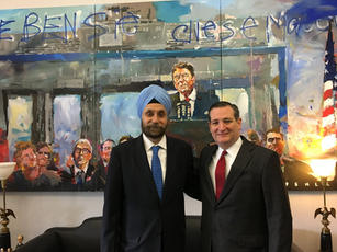 With Sen. Ted Cruz