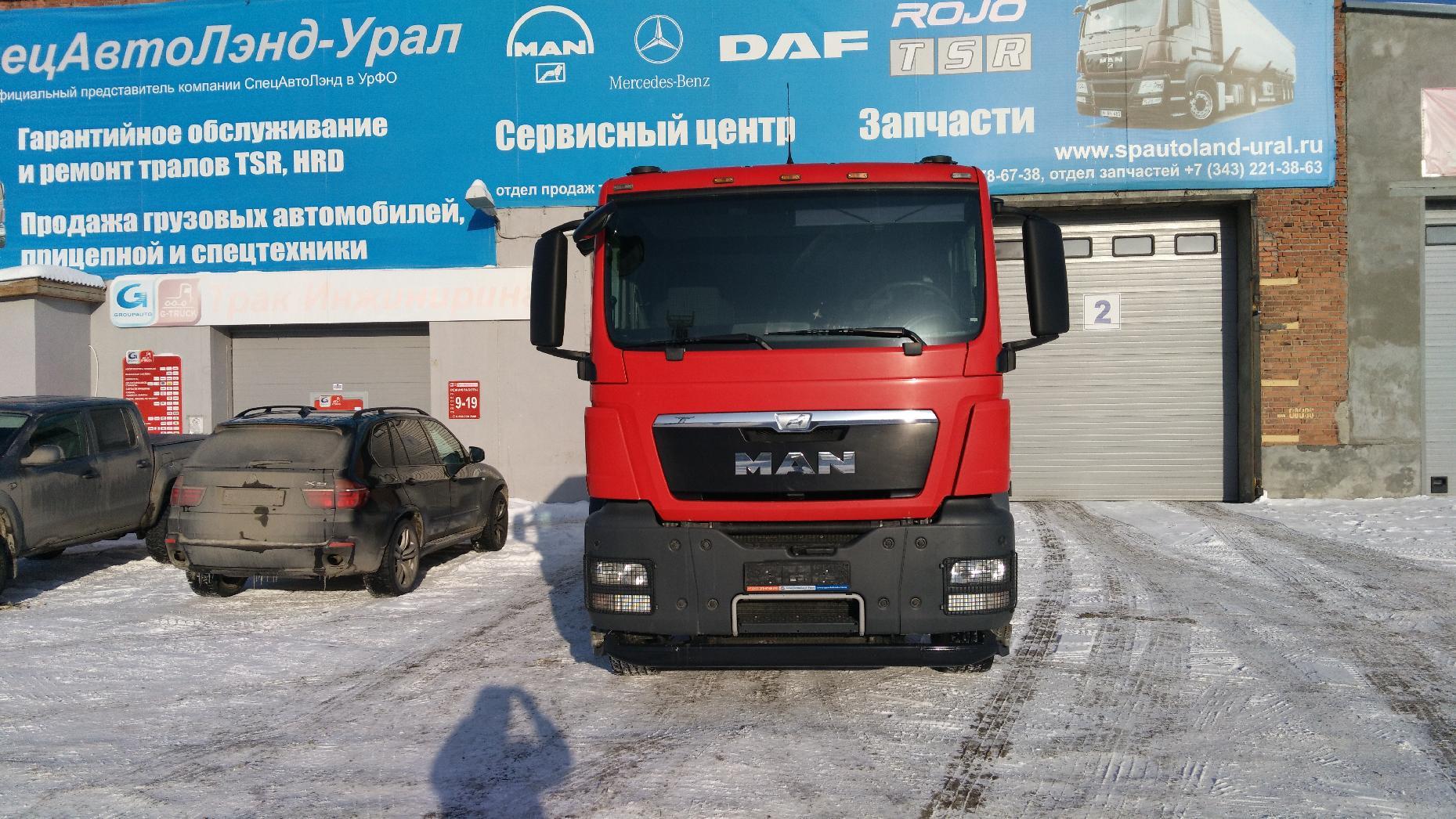 Продажа Тягач с пробегом МАН ТГС 33.
