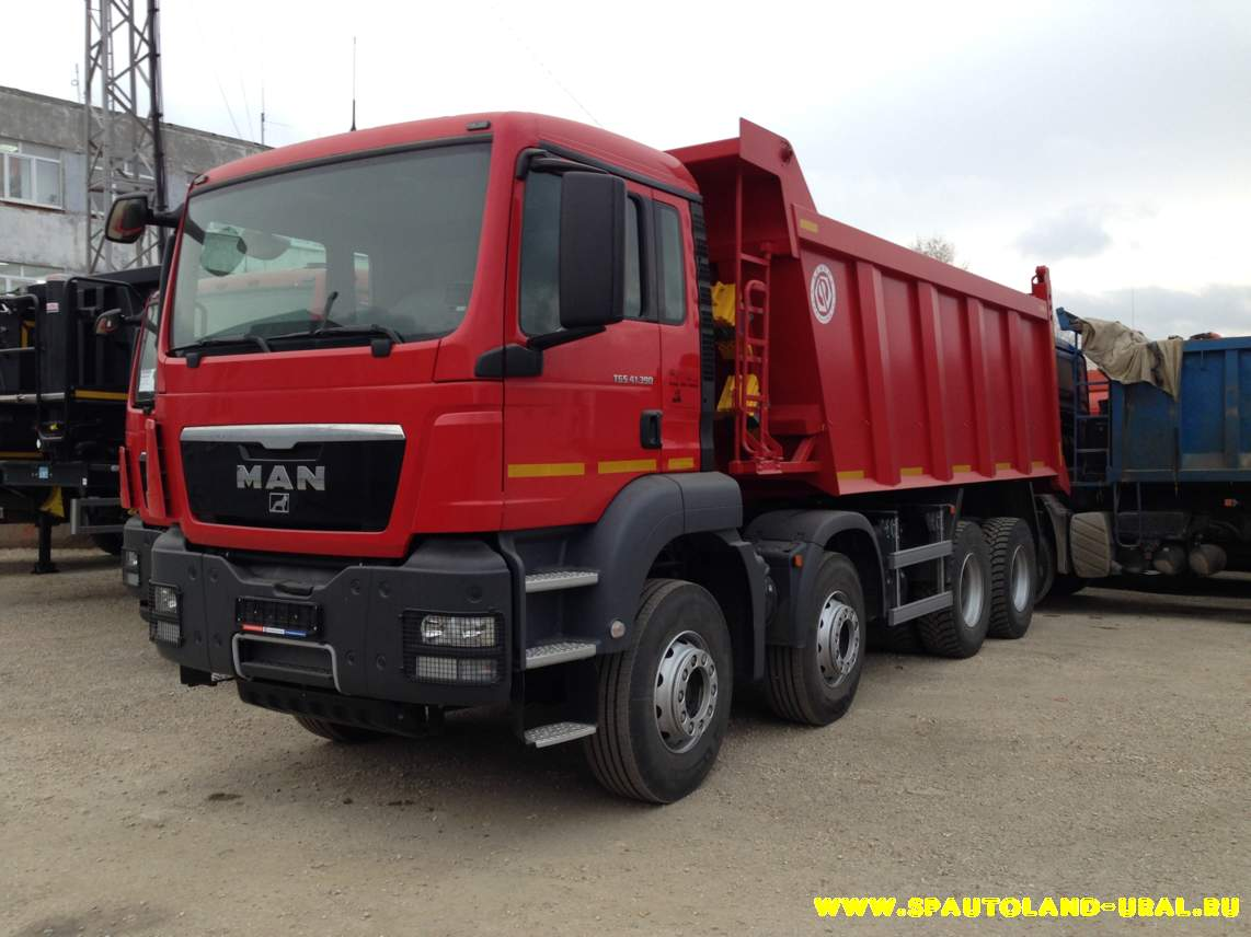 Самосвал MAN TGS 41.400 8x4 BB-WW