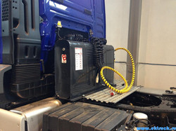 Гидрофикация Binotto на тягач MAN