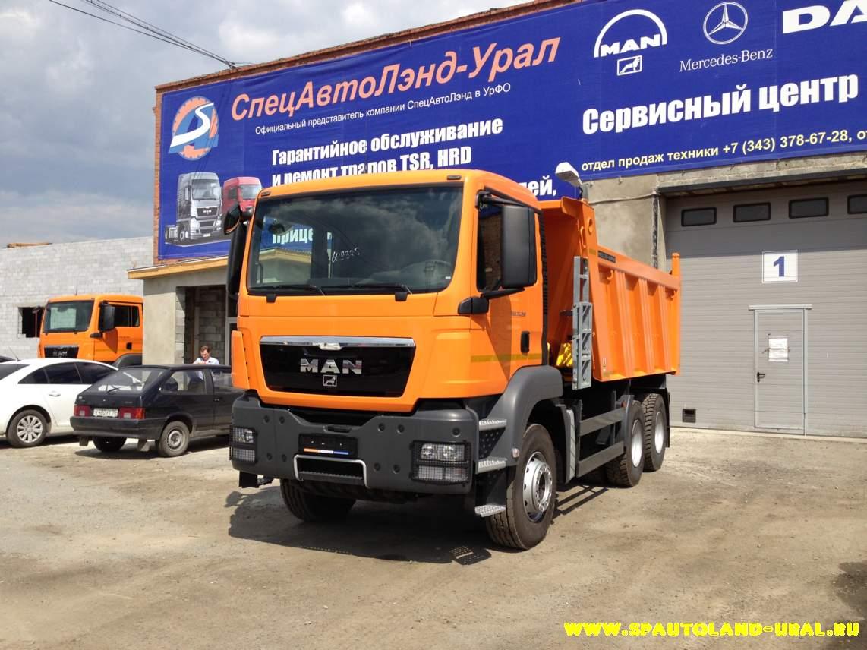 Самосвал MAN TGS 33.400 6x4 BB-WW