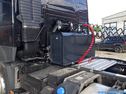 Гидрофикация Binotto на тягач VOLVO