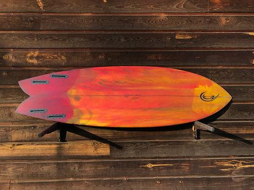 Master fish Quattro 5'11'' / 33L. # 502