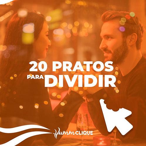 PARA DIVIDIR - 20 PRATOS