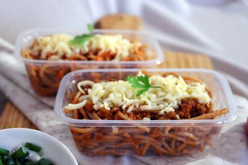 Espaguete integral a bolonhesa