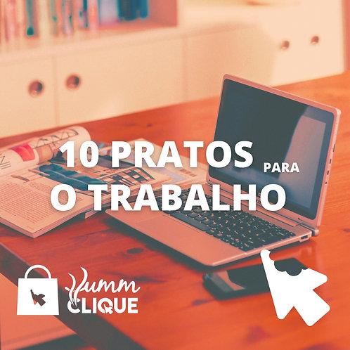 COMBO PARA O TRABALHO - 10 PRATOS