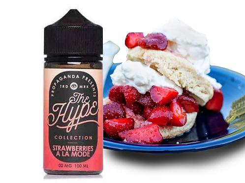The Hype Strawberries A La Mode