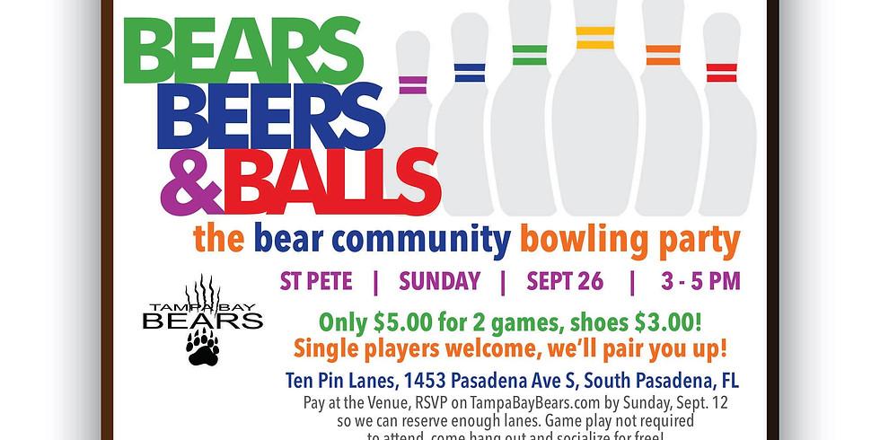 Bears, Beers & Balls - TBB Bowling
