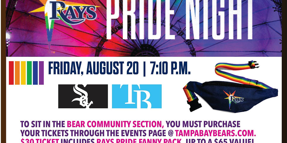 Rays Pride Night with the Tampa Bay Bears