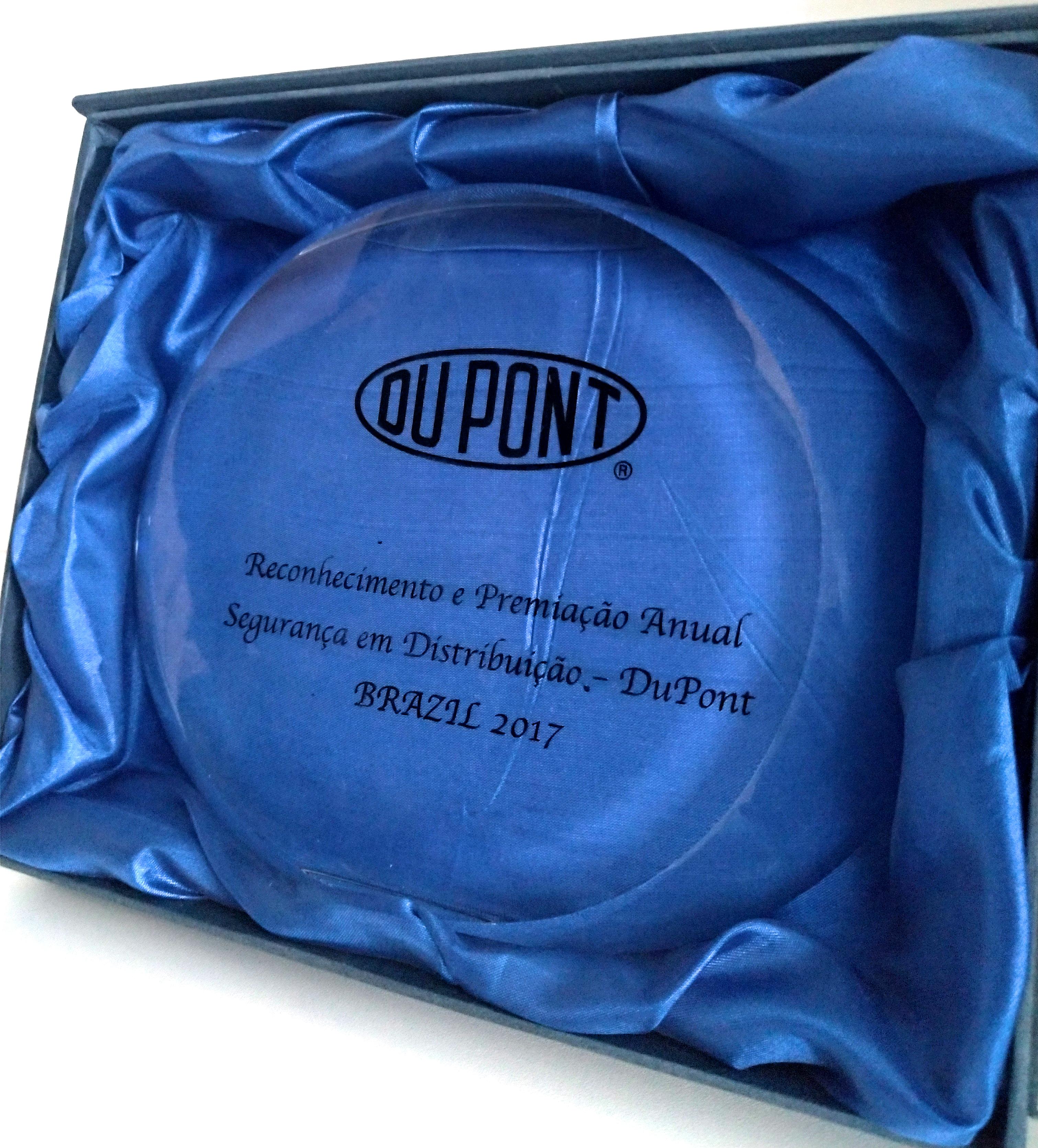 Prêmio Segurança em Distribuição - Dupont