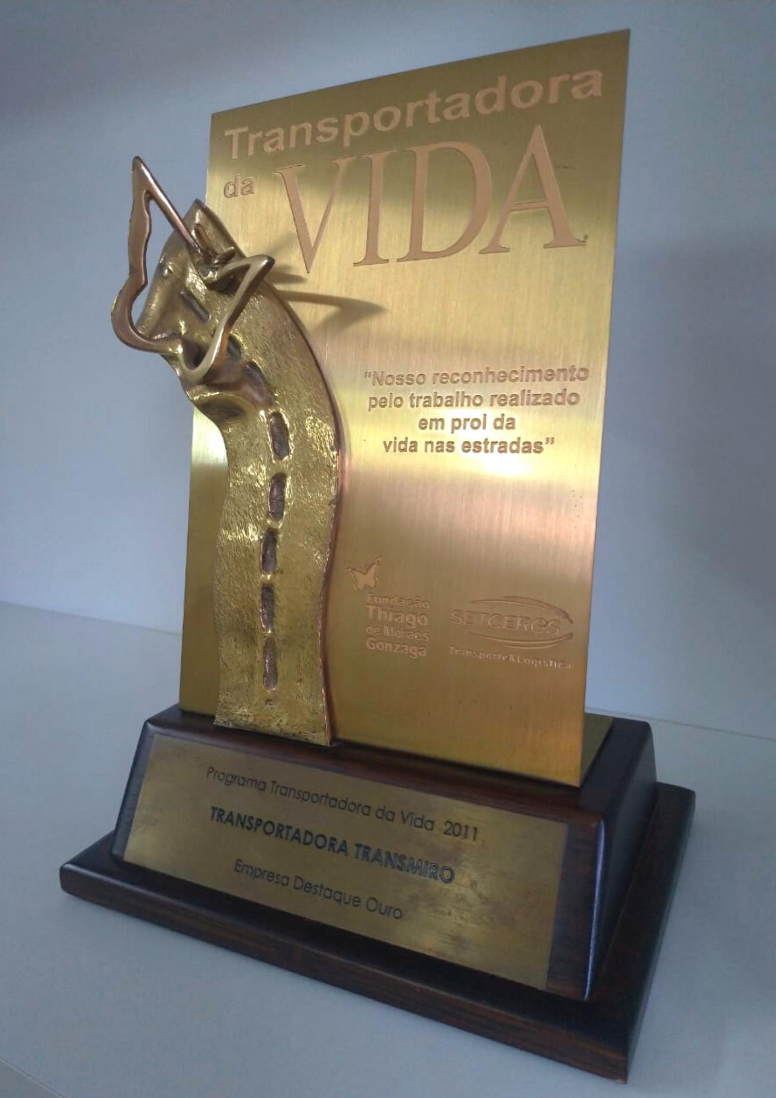 Prêmio Transportadora da Vida - SETCERGS e DETRAN