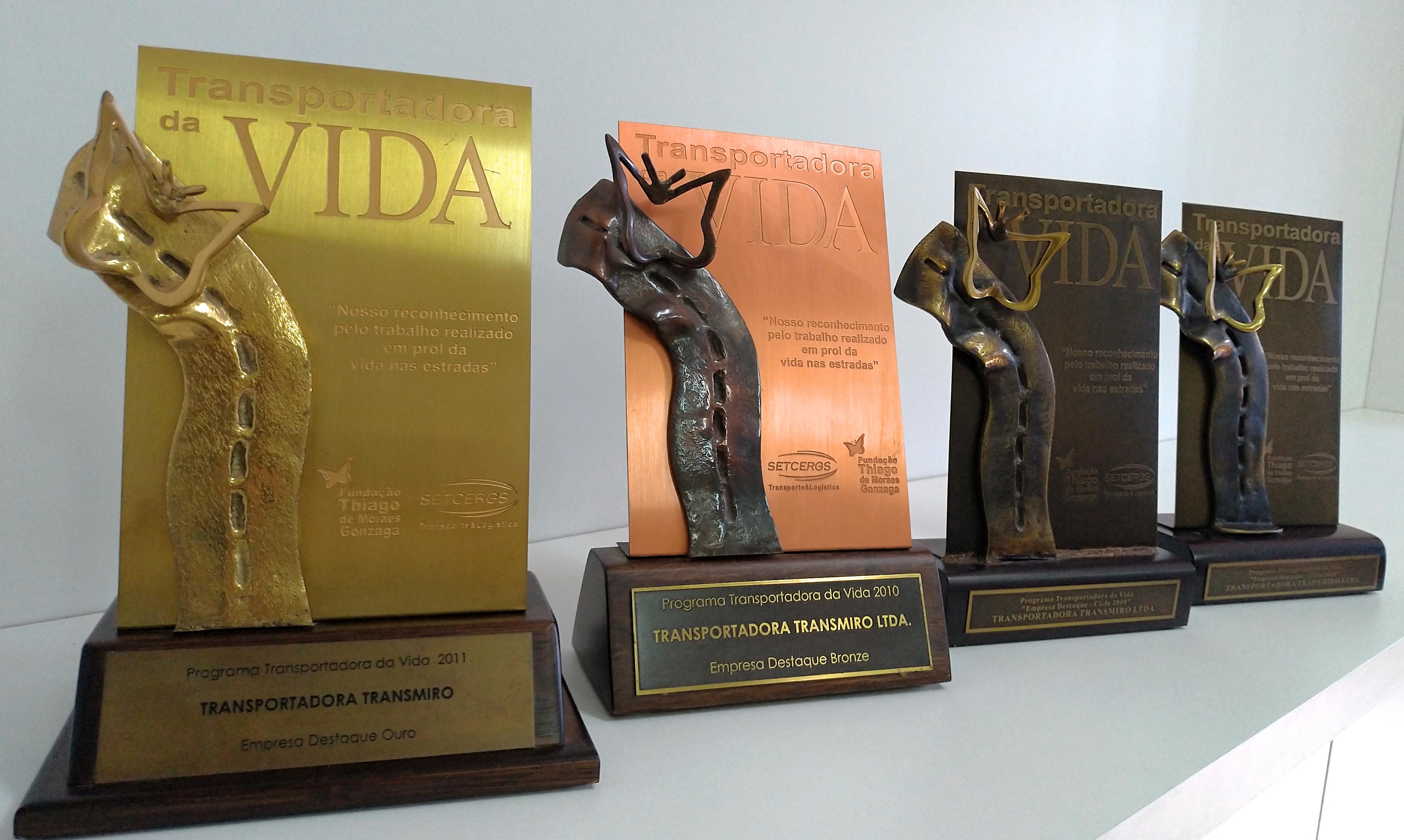 Prêmios Transportadora da Vida - SETCERGS e DETRAN