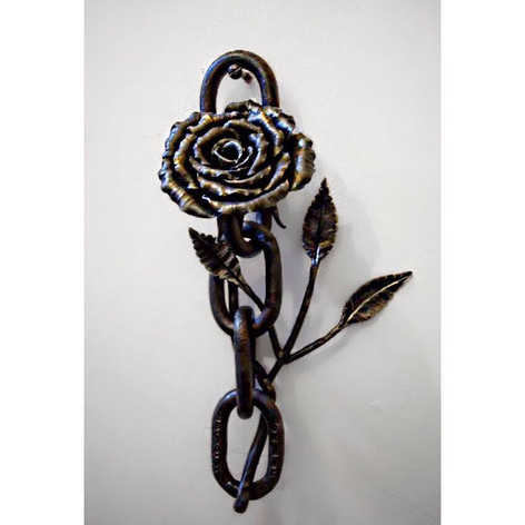 'Tough Love' Chain with Rose