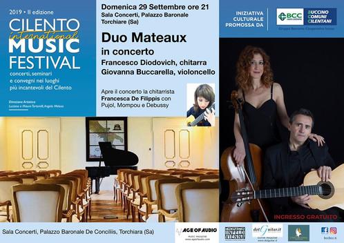 Cilento International Music Festival 01.