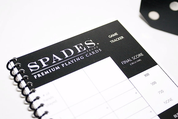 Official Spades Scorebooks