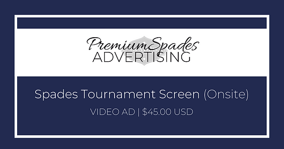 Ad Placement | Tournament Screen - VIDEO AD