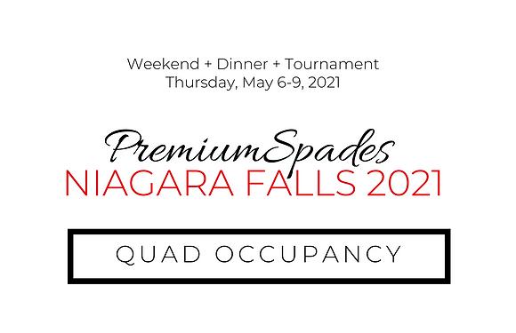 PremiumSpades | Niagara Falls - Quad Occupancy