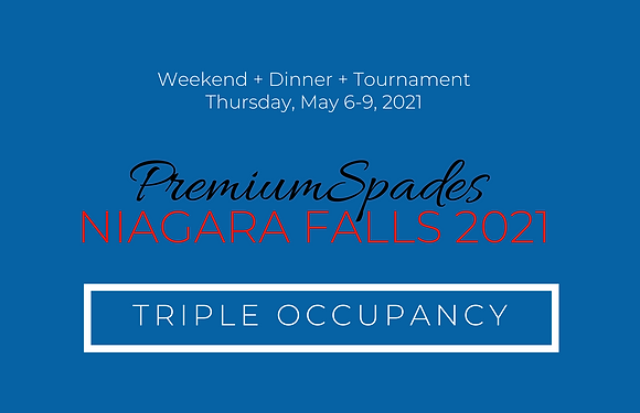 PremiumSpades | Niagara Falls- Triple Occupancy