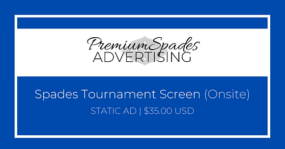 Ad Placement | Tournament Screen - STATIC AD