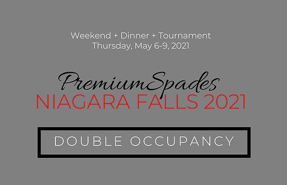 PremiumSpades | Niagara Falls- Double Occupancy