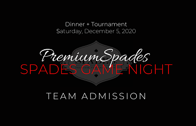 TEAM Spades Game Night Admission - Raleigh NC