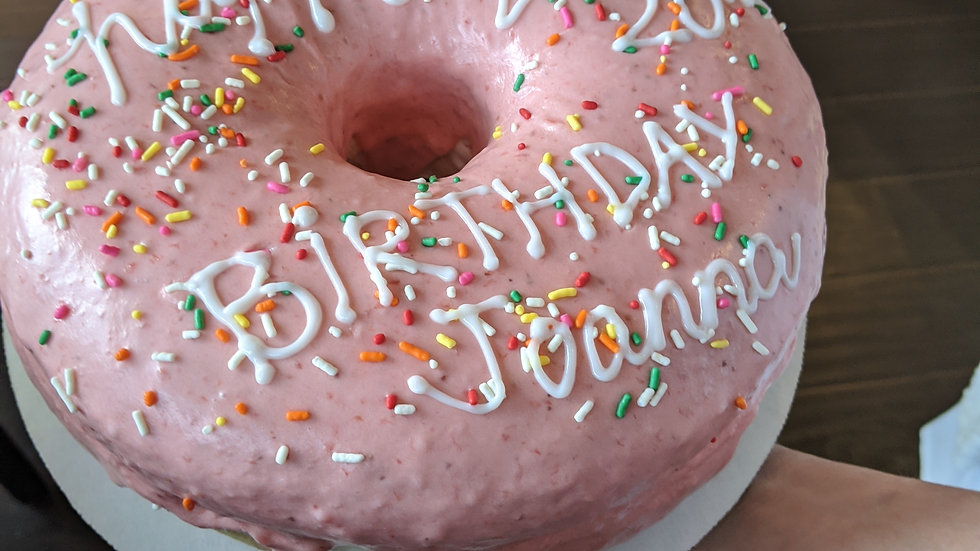 Custom Donut Cake
