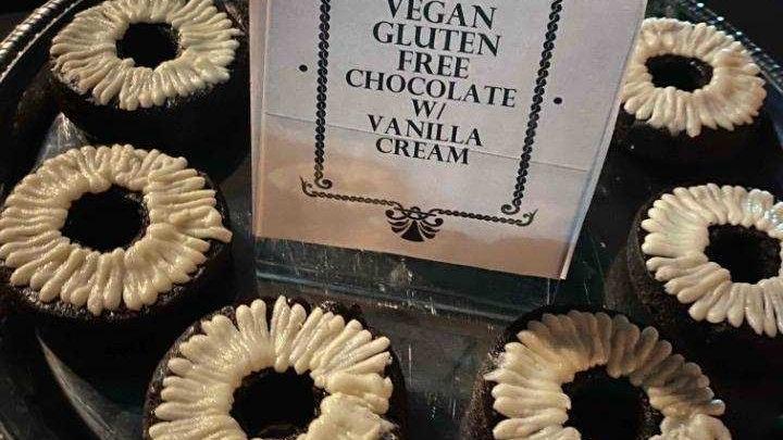 Vegan-Gluten Free Cake Donut 1/2 Dozen