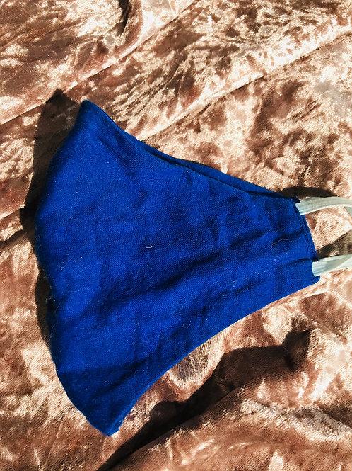 Blue | Cotton Mask