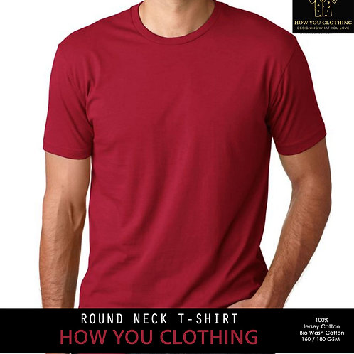 Solid Crimson Red | T-shirts