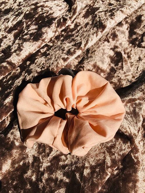 Shiffon Peach | Scrunchie