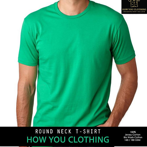 Solid Light Green | T-shirts