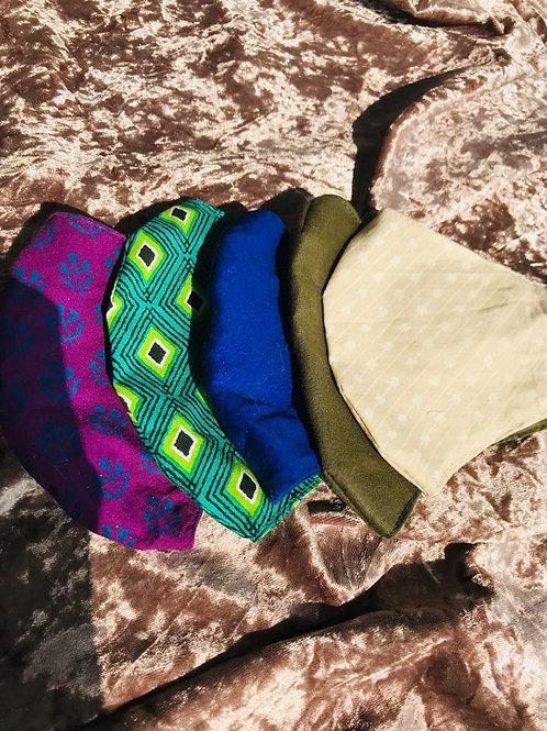 Set of 5 | Cotton Masks