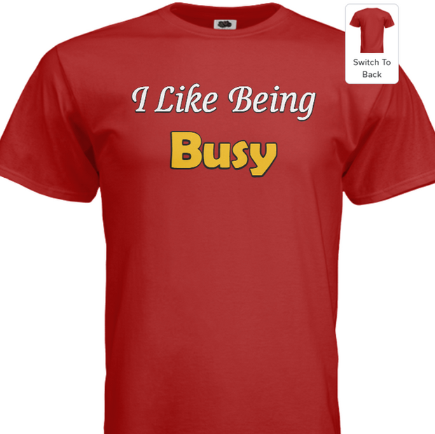 Busy Red