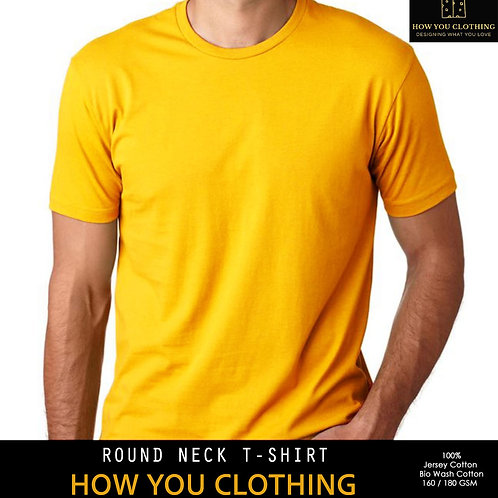 Solid Golden Yellow | T-shirts