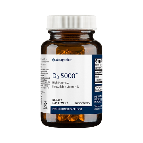 D3 5000 IU #120