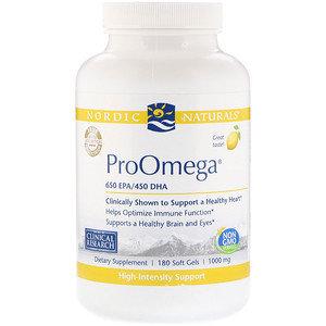 Pro Omega Lemon 650 EPA/450 DHA 120 gels