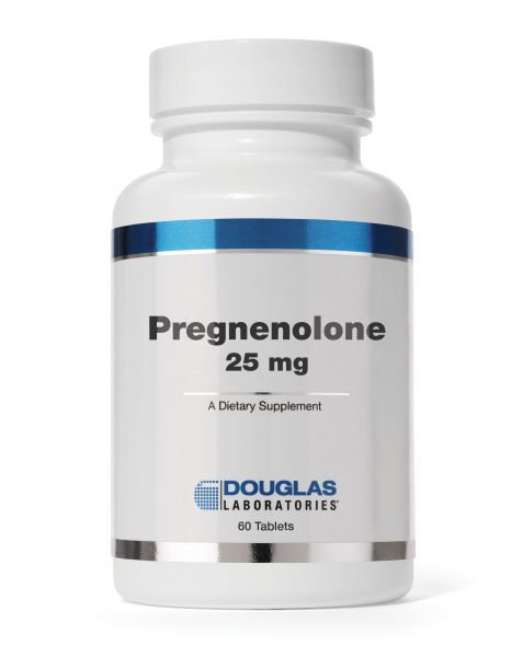 Pregnenolone 25mg 60 tablets