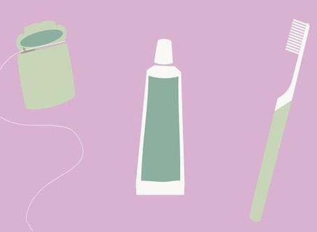 """Let's """"Brush"""" up on Dental Tips!"""