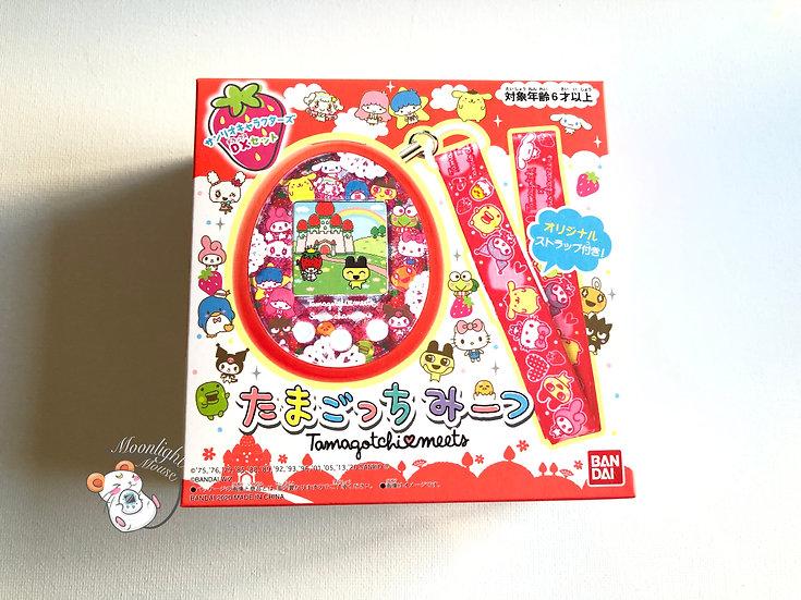 Tamagotchi Sanrio Meets Strawberry Red Bandai Japan Virtual Pet 2020
