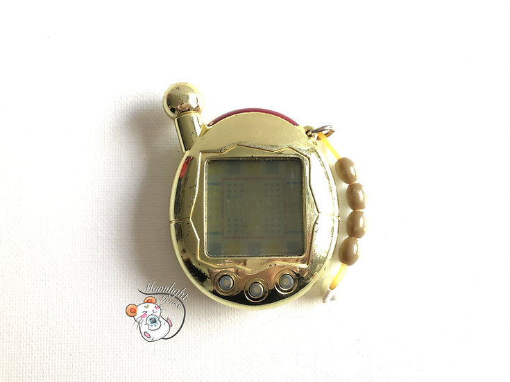 Tamagotchi Connection v4 English Jinsei Limited Edition Gold Asia 2007