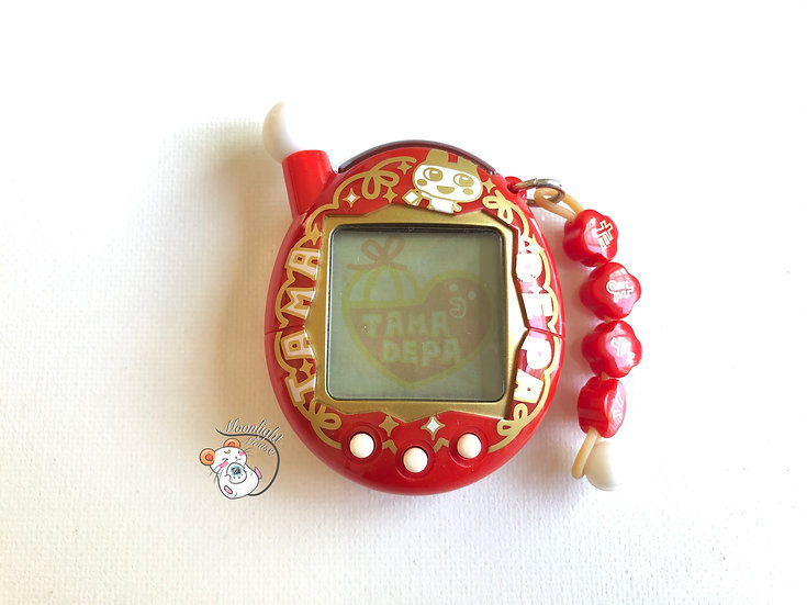 Tamagotchi Entama Chou Jinsei Enjoi Red TamaDepa Limited Edition Japan 2007