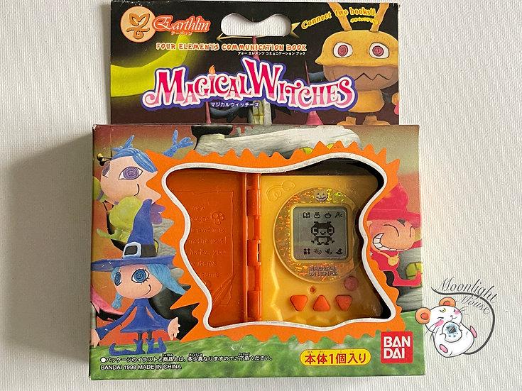 Bandai Magical Witches Orange Earth Earthlin Tamagotchi Virtual Pet 1998