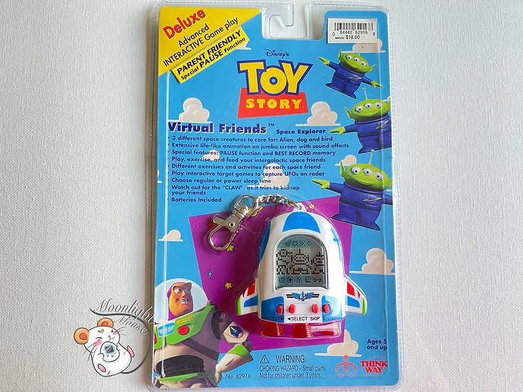 Disney Toy Story Alien Spaceship Tamagotchi Virtual Pet 1998