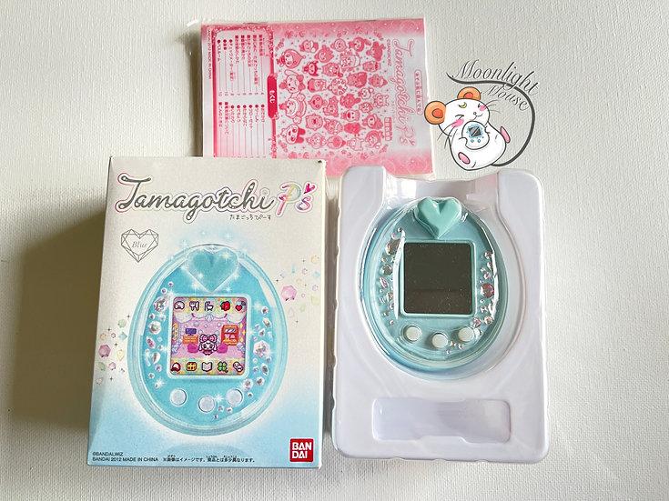 Tamagotchi P's Blue English Bandai Japan 2012