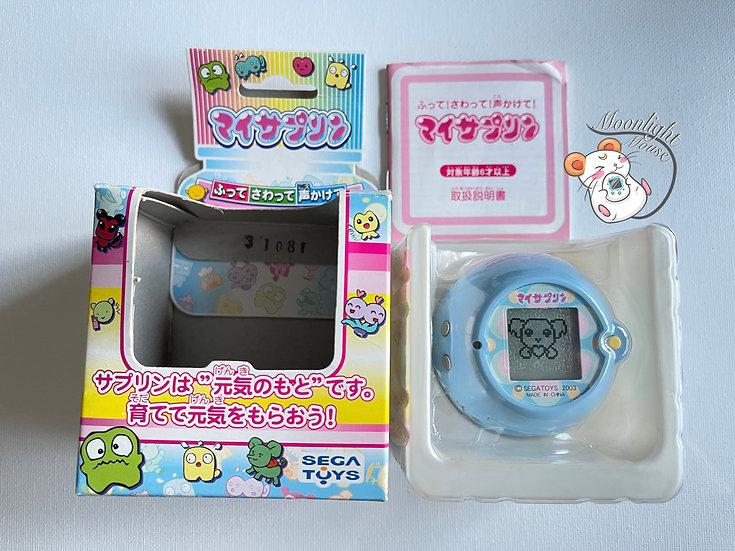 Sega My Sapling Blue Tamagotchi Virtual Pet Japan 2003